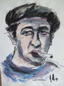 (P) Blaise Cendrars par Henri Cachau : cendrars-1-225x300